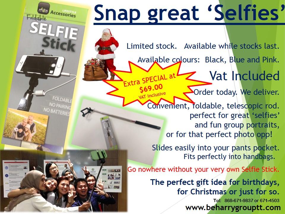 Selfie Sticks 2 Santa Special